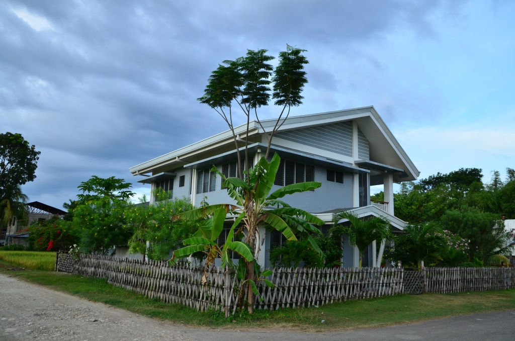 house in Argao, Cebu, Philippines, at another daytime